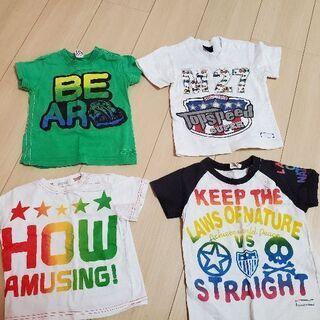夏物処分! キッズTシャツ 5枚セット! サイズ90cm