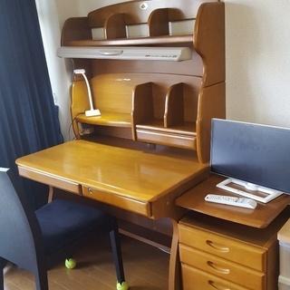 学習机(東1-401)椅子込み ※引取に来て頂ける方限定