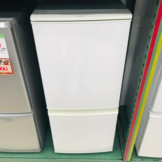 シャープ 15年式 2ドア ノンフロン冷蔵庫 SJ-D14A-W