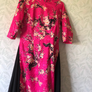 ベトナム アオザイ áo dài 海外 洋服