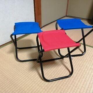 小型折りたたみパイプ椅子