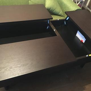 [再値引き]収納付き センターテーブル[美品] - 杉並区