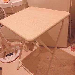山善の折り畳みテーブル【まだあります!】