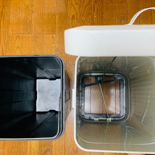 【決まりました】ペダル開閉式ゴミ箱 30L ダストボックス レトロや北欧インテリアに − 福岡県