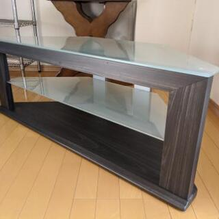 テレビ台 コーナー台 ガラステーブル