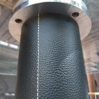[配達無料][即日配達も可能?]店舗用テーブル ラウンドテーブル 強化ガラス製 天板直径120センチ Tenpered Glass - 名古屋市