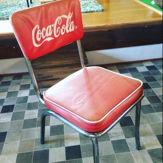 コカコーラの椅子レトロ