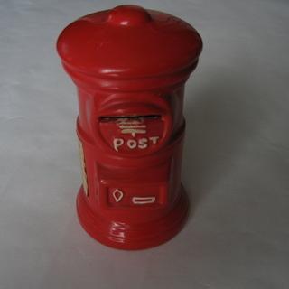 *郵便ポストの貯金箱*