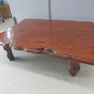 ▶折り畳み座卓 折りたたみ テーブル 幅119×奥行88×高さ3...