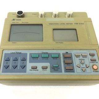 RION リオン 振動レベル計 VM-53A 校正証明書 試験成...