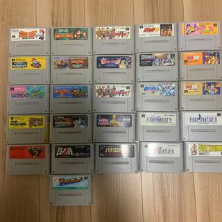 スーパーファミコン カセット26本 ファミコン15本 任天堂64 3本
