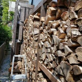 薪 焚き火 キャンプ @横浜