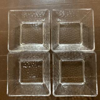 ガラスお皿 4枚セット