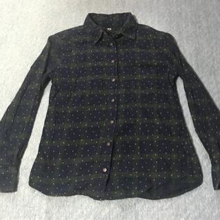 【ネット決済】チェック ネルシャツ ユニクロ UNIQLO Sサイズ