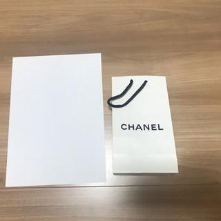 シャネル CHANEL 紙袋のみ