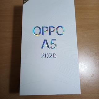 【値下げ】★新品未使用 OPPO A5 2020  SIM…