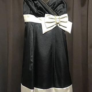【美品】フォーマル パーティ バイカラーワンピース 11号 L
