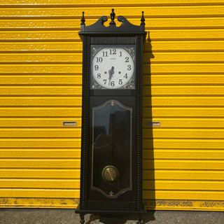(取引中)citizen アンティーク調 柱時計