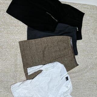 スカート4枚とトップス1枚