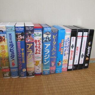 ①ディズニーのVHSビデオテープ色々