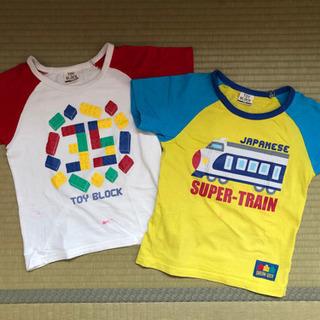 ★中古★ kids Tシャツ 2枚セット 【TOY BLOCK】