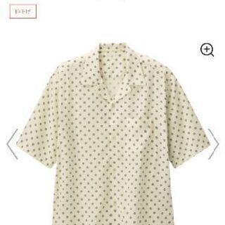 新品タグ付き オープンカラーシャツ コモン柄 S メンズ