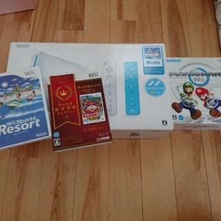 ※値下げ※Wii 本体とゲームソフト3つ