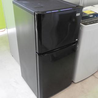 冷蔵庫 106L 2015年製 2ドア ハイアール 黒 JR-N...