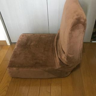 座椅子 アイリスオーヤマ ブラウン