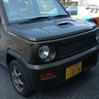 値下げ 平成13年 ダイハツ ネイキッド 4WD  TB マニ...