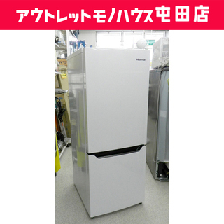 2ドア冷蔵庫  100Lクラス 2017年製 150L ハイセ...