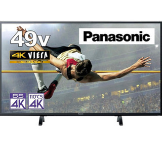 美品 4K液晶テレビ  (2020年製)49インチ パナソニック