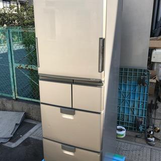 2009年製 SHARP 自動製氷付 5ドア冷凍冷蔵庫 SJ-K...