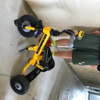 HUMMER 三輪車 手押し棒付きの画像