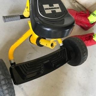 HUMMER 三輪車 手押し棒付き - 自転車