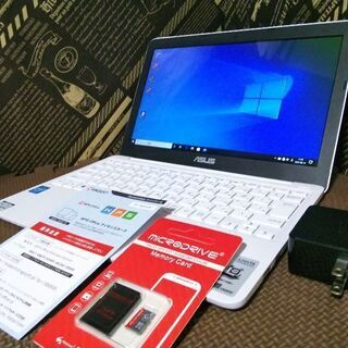 美品☆4コアCPU Windows10 EMMC64GB Off...