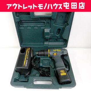 日立工機 12mm 12V 充電式 コードレスドライバドリル F...