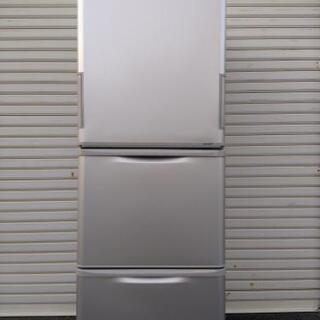 シャープ冷蔵庫SJ-W352E-S2020年製