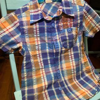 130シャツ男子 襟シャツ 薄手 ビッツ系列
