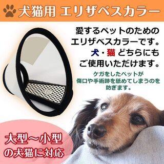 【新品・未使用】犬猫用エリザベスカラー(Mサイズ)