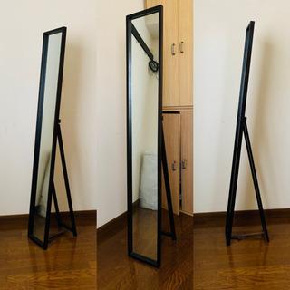【決まりました】姿見 全身ミラー スリムタイプ 幅22cm 高さ約147.5cmの画像