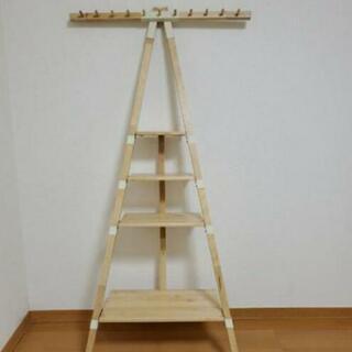 【めっちゃおしゃれ】イケア 木製 飾り棚の画像
