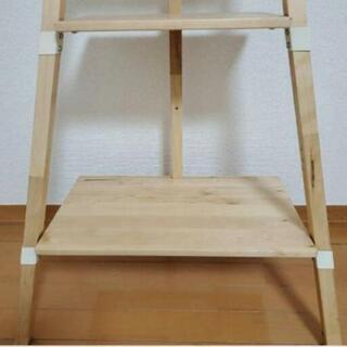 【めっちゃおしゃれ】イケア 木製 飾り棚 - 家具