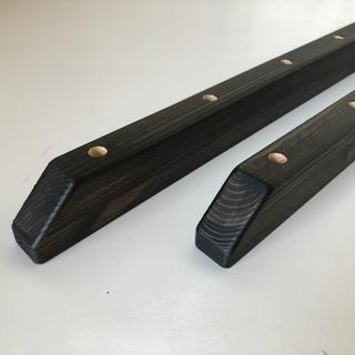 【展示品処分特価】 反り止め 塗装済み ブラック 長さ55cm ...
