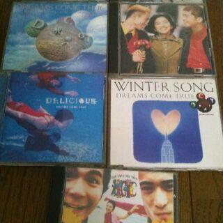 ドリカム CD 7枚組