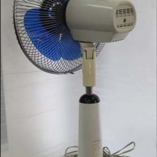 【¥2200-】◆レトロ TOSHIBA 東芝 扇風機 H-30P30 ブルー アンティーク コレクション インテリア - 札幌市