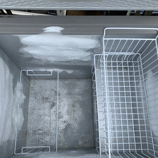 冷凍庫 216リットル 中古 古いけどバッチリ冷えます - 旭川市
