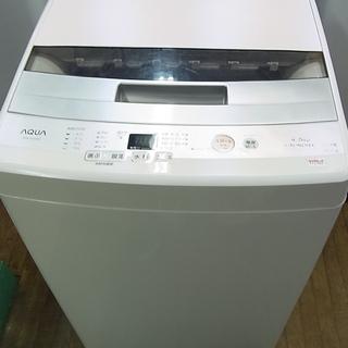 AQUA アクア 4.5kg 全自動洗濯機 AQW-S45…