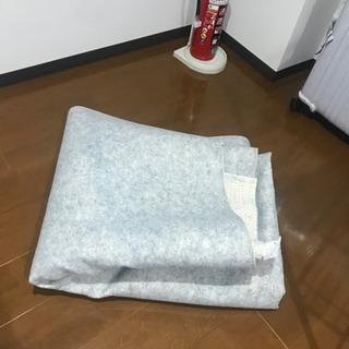 カーペット(2m四方, 白色) ニトリ