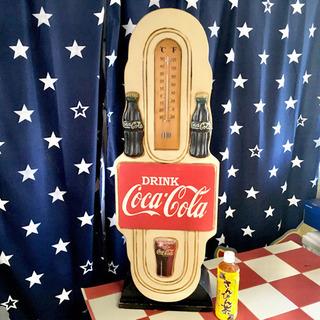 ビンテージ コカコーラ ラック 棚 インテリア雑貨 木製棚…